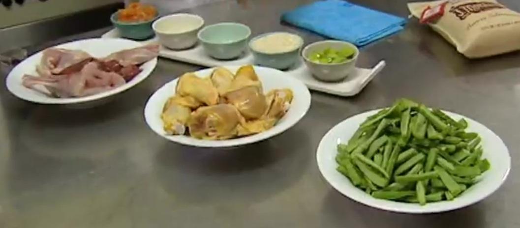 Une bonne préparation de ses ingredients pour une Paella