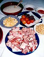 ingredients du riz au four